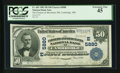 National Bank Notes:Maryland, Cambridge, MD - $50 1902 Plain Back Fr. 683 The Farmers &Merchants NB Ch. # (E)5880. ...