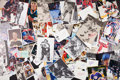 Hockey Collectibles:Others, Circa 1950's-90's Hockey Stars Signed Photographs, Cuts, Cards, etc. Hoard of 7500+....