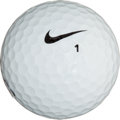 Golf Collectibles:Miscellaneous, 2004 Tiger Woods Tournament Used UDA Golf Ball....