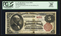 National Bank Notes:Pennsylvania, East Stroudsburg, PA - $5 1882 Brown Back Fr. 470 The EastStroudsburg NB Ch. # 4011. ...
