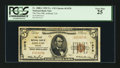 National Bank Notes:Virginia, Ashland, VA - $5 1929 Ty. 1 The First NB Ch. # 11978. ...