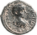 Ancients:City Coins, Ancients: SAMARIA. Neapolis. Elagabalus (218 - 222 AD). AE 24mm (12.60 gm, 6h)....