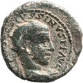 Ancients:Judaea, Ancients: SAMARIA. Caesarea. Volusian (AD 251 - 253). Æ 24mm (11.80 gm, 6h)....