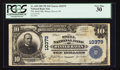 National Bank Notes:Florida, Winter Haven, FL - $10 1902 Plain Back Fr. 630 The Snell NB Ch. #10379. ...