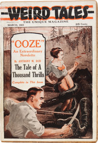 Weird Tales - March 1923 First Issue, Second-State Copy (Rural Publishing, 1923) Condition: Apparent VG
