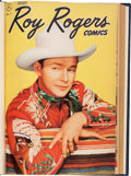 Golden Age (1938-1955):Western, Roy Rogers Comics Partial Bound Volumes (Dell, 1948-61)....