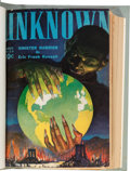 Pulps:Science Fiction, Unknown/Unknown Worlds Bound Volumes (Street & Smith, 1939-43).... (Total: 13 Items)