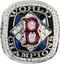 Baseball Collectibles:Others, 2004 Boston Red Sox World Championship Ring Presented to Pitcher Jimmy Anderson....