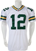 Football Collectibles:Uniforms, 2011 Aaron Rodgers Game Worn Green Bay Packers Jersey, Unwashed....