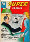 Golden Age (1938-1955):Miscellaneous, Super Comics #38-97 and 104-121 File Copy Bound Volumes Lot of 13 (Dell, 1941-1949)....