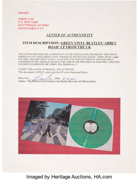 Beatles Abbey Road and Let It Be Colored Vinyl LP Group