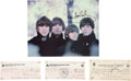 Music Memorabilia:Autographs and Signed Items, Beatles Signed Checks and Photo.... (Total: 4 Items)