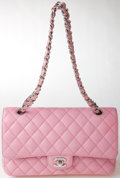 Luxury Accessories:Bags, Heritage Vintage: Chanel Pink Caviar Double Flap Bag with SilverHardware. ...