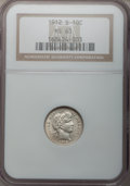 Barber Dimes: , 1912-S 10C MS63 NGC. NGC Census: (27/78). PCGS Population (39/80).Mintage: 3,420,000. Numismedia Wsl. Price for problem fr...