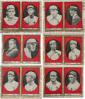 Baseball Cards:Sets, Previously Unknown 1913 Derby Cigar Philadelphia Athletics CompleteSet (12) - First Examples Ever Found! ...