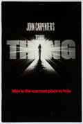 Books:Science Fiction & Fantasy, John W. Campbell, Jr. [Who Goes There?] John Carpenter's The Thing. Universal, 1982. First separate edition of C...