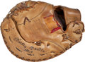 Baseball Collectibles:Others, 1967-68 Mickey Mantle Game Worn First Baseman's Mitt....