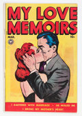Golden Age (1938-1955):Romance, My Love Memoirs #11 (Fox Features Syndicate, 1950) Condition:FN-....
