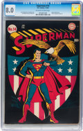 Golden Age (1938-1955):Superhero, Superman #14 (DC, 1942) CGC VF 8.0 Off-white to white pages....