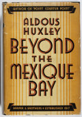 Books:Travels & Voyages, Aldous Huxley. Beyond the Mexique Bay. Harper, 1934. First edition, first printing. Printer's copy with stamp an...