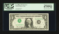 Error Notes:Inverted Third Printings, Fr. 1908-A $1 1974 Federal Reserve Note. PCGS Superb Gem New67PPQ.. ...