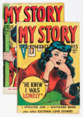 Golden Age (1938-1955):Romance, My Story #9 and 10 Group (Fox Features Syndicate, 1950).... (Total:2 Comic Books)