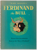 Books:Children's Books, Walt Disney. Ferdinand the Bull. Whitman, 1938. Firstedition, first printing. Toning and offsetting. Minor staining...