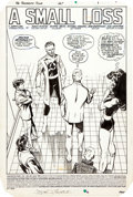 "Original Comic Art:Complete Story, John Byrne Fantastic Four #267 Complete 22-page Story ""A Small Loss"" Original Art (Marvel, 1984)...."