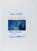 Books:Art & Architecture, [Walt Disney]. PRODUCER/DIRECTOR SIGNED. Lilo & Stitch:Collected Stories from the Film's Creators. Welcome, 2002. F...