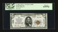 National Bank Notes:Pennsylvania, Indiana, PA - $5 1929 Ty. 2 First NB Ch. # 14098. ...
