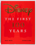 Books:Art & Architecture, [Walt Disney]. Dave Smith and Steven Clark. SIGNED. Disney: The First 100 Years. Hyperion, 1999. First edition, ...