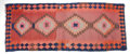 Rugs & Textiles:Hook Rugs, A KILIM WOOL RUG . 20th century . 128 x 50 inches (325.1 x 127 cm).Elton Hyder III Collection Formerly at the University ...