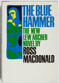 Books:Mystery & Detective Fiction, Ross Macdonald. The Blue Hammer. Knopf, 1976. First edition,first printing. Slight lean. Bio-predation. Good....