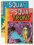 Magazines:Fanzine, Squa Tront #1 and 2 Group (Jerry Weist, 1967) Condition: Average FN/VF.... (Total: 2 Items)