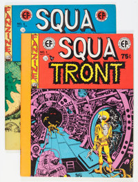 Squa Tront #1 and 2 Group (Jerry Weist, 1967) Condition: Average FN/VF.... (Total: 2 Items)