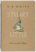 Books:Children's Books, E. B. White. Stuart Little. Harper, 1945. First edition,first printing. Lacking dj. Minor toning and bumping. Light...