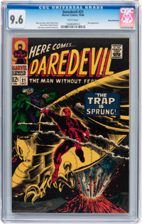 Daredevil #21 Rocky Mountain pedigree (Marvel, 1966) CGC NM+ 9.6 White pages