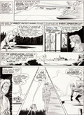 "Original Comic Art:Panel Pages, Carmine Infantino and Joe Giella Flash #130 ""Who Doomed theFlash"" Page 4 Original Art (DC, 1962)...."