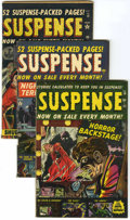 Golden Age (1938-1955):Horror, Suspense Group (Atlas, 1952-53).... (Total: 5 Comic Books)
