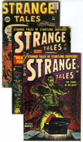 Golden Age (1938-1955):Horror, Strange Tales Group (Marvel, 1953-62).... (Total: 5 Comic Books)