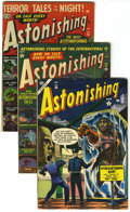 Golden Age (1938-1955):Horror, Astonishing Group (Atlas, 1952-54).... (Total: 4 Comic Books)