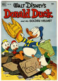 Golden Age (1938-1955):Funny Animal, Four Color #408 Donald Duck and the Golden Helmet (Dell, 1952)Condition: FN/VF....