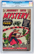 Silver Age (1956-1969):Superhero, Journey Into Mystery #83 (Marvel, 1962) CGC FN 6.0 Cream tooff-white pages....