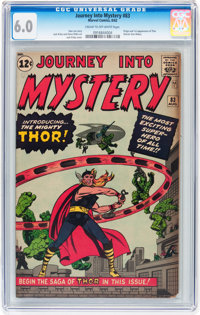 Journey Into Mystery #83 (Marvel, 1962) CGC FN 6.0 Cream to off-white pages