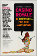"Movie Posters:James Bond, Casino Royale (Columbia, 1967). One Sheet (27"" X 41""). James Bond....."