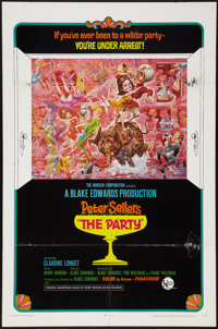 """The Party (United Artists, 1968). One Sheet (27"""" X 41"""") Style B. Comedy"""
