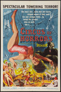 """Movie Posters:Horror, Circus of Horrors (American International, 1960). One Sheet (27"""" X 41""""). Horror.. ..."""