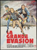 "Movie Posters:War, The Great Escape (United Artists, 1963). French Affiche (22"" X30""). War.. ..."