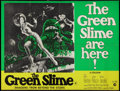 """Movie Posters:Science Fiction, The Green Slime (MGM, 1969). British Quad (30"""" X 40""""). ScienceFiction.. ..."""