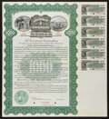 Canadian Currency: , Government of Newfoundland $1000 Three Year Five Per Cent Bond July1, 1916 Specimen. ...